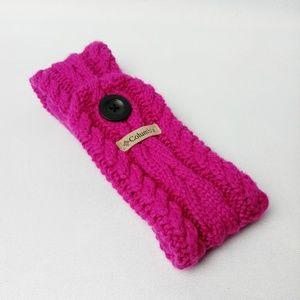 Columbia Knit Fleece Headband Winter Cold Weather